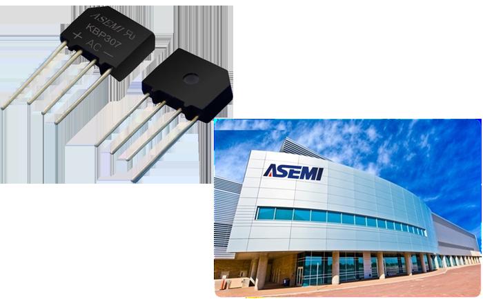 ASEMI台湾进口品质在整流桥KBP307上采取了加严处理,尤其在芯片上采用了台湾进口GPP芯片,封装材料采用进口优质PC材料一次性浇铸成型,其引脚为镀锡粉脚,导电性能更佳且抗氧化性更强,您可以想象这样的整流桥能带给电源电器厂商怎样的效益,想要了解吗?请关注ASEMI官网www.asemi88.