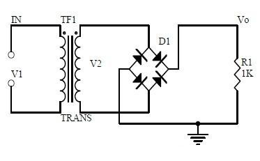 反相积分运算电路图
