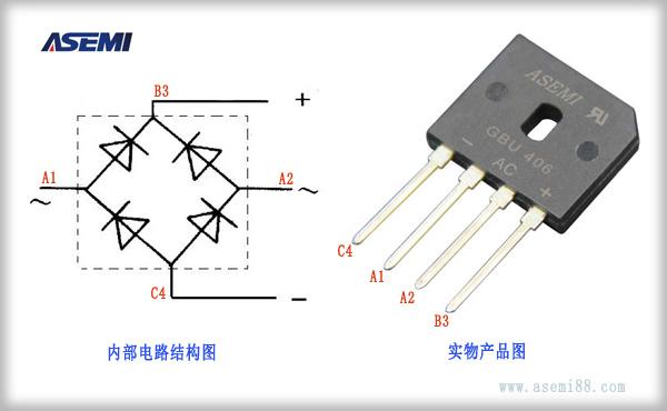 三相整流桥电路图怎么画,asemi工程师告诉你 三线整流桥电路图