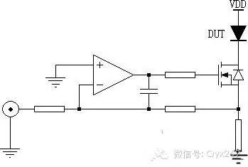对于电路来说,浪涌电流是非常影响整体运行效率的一个问题。设计者们想方设法的对浪涌电流进行规避,因此各种各样的测试方法应运而生。在本文中,小编将为大家介绍一种二极管正向浪涌电流的测试基本电路。 正弦半波脉冲电流的产生 二极管的规格繁多,常见的额定通态电流从数百毫安到数百安培甚至更高,IFSM测试需要的峰值脉冲电流要求达到数十倍的额定通态电流值。标准的测试方法是采用大容量工频变压器,截取市电交流波形来产生时间常数为10ms、导通角为0°~180°的正弦半波脉冲,如图1。  图1正向浪涌电流测试