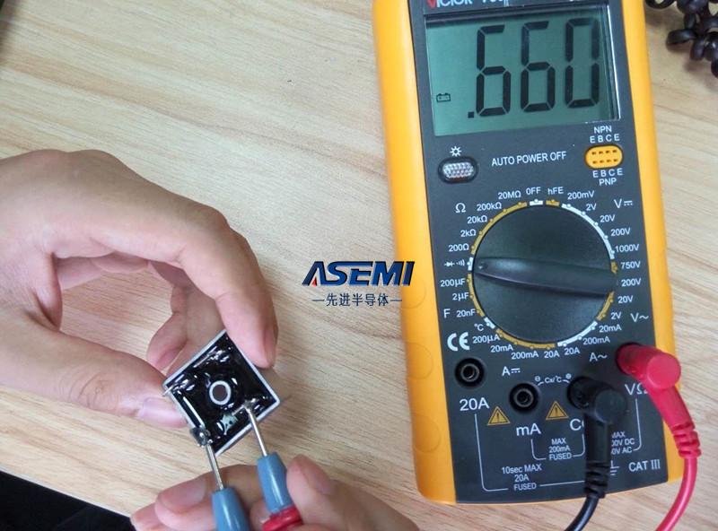 ASEMI 测量步骤