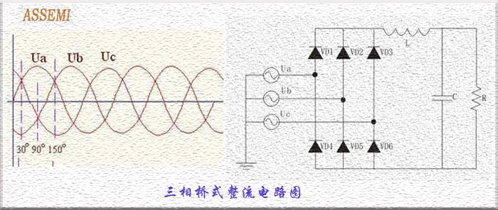 三相整流桥电路图_三相整流桥电路图价格